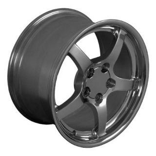 17 Polished Wheels Rims Fit C4 C5 1988 2004 Corvette