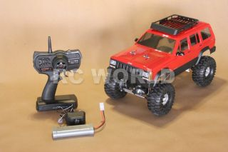 RC4WD 1/10 ROCK CRAWLER RC TRUCK JEEP GRAND CHEROKEE 2.4GHZ RTR 90%