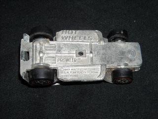 Vintage Hot Wheels Redline Prowler Die Cast Model Car