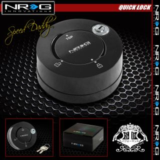 NRG Thin Steering Wheel Short 6 Hole Quick Release Lock Key Adaptor