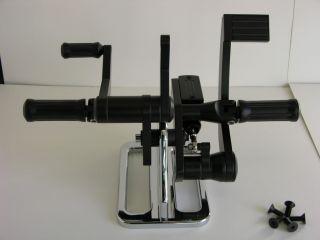 OCP Black 84 99 Softail Rigid FX FL Forward Controls Harley
