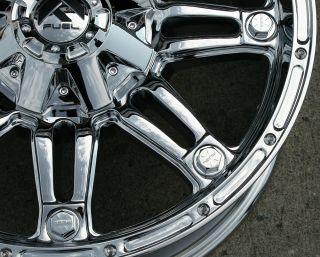 Fuel Hostage F503 20 Chrome Rims Wheels Tahoe Silverado 2WD 20 x 9 0