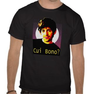 Cui Bono  RIP Aaron Swartz T Shirt