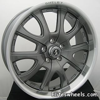 20 Gunmetal Wheels Rims Shelby Redline Camaro Firebird