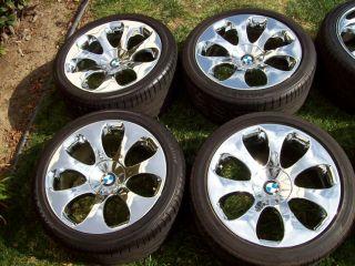 19 Factory 6 Series Chrome Wheels 645 650 M6 E63 E64 Tires Staggered