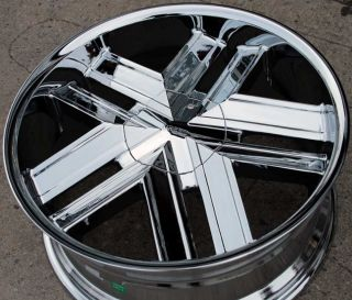 Greed Trapp 935 22 Chrome Rims Wheels GMC Acadia Traverse