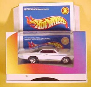 Hot Wheels Lexmark White 67 Pontiac GTO