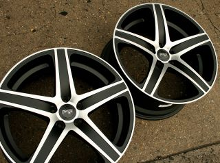 Niche Euro M102 20 Black M Rims Wheels Benz CL550 rwd 20 x 8 5 9 5 5H