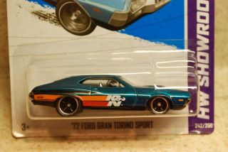 Hot Wheels 2013 Super Treasure Hunt 72 Ford Gran Torino Sport HW
