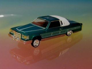 Hot 81 Cadillac Coupe DeVille Lowrider Limited Edition 1 64 Scale