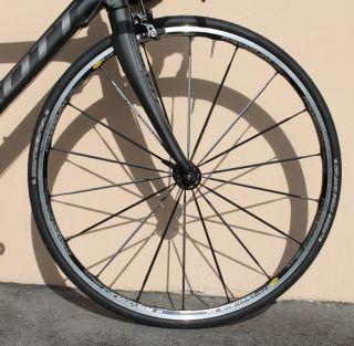 2011 Scott Addict R1 Carbon Fiber Road Bike Mavic Ksyrium SL Dura Ace