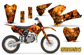 KTM SX85 SX105 2006 2012 Graphics Kit Decals Inferno Obnpr