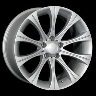 18 M5 STYLE SILVER WHEELS RIMS FIT BMW E85 E89 Z4 ALL YEARS & M3 2000