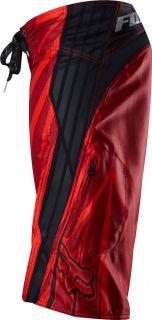 Fox Racing WiFi Tech Boardshort Red Swim Trunks Surf Board Shorts