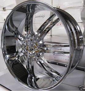 20 Wheels Rims Package Free Tires Bentchi B14 Triple Chrome 5x108