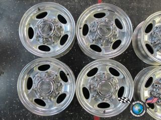 Ford Excursion F250 F350 16 Wheels OEM Rims 3408 Polished F81A 1007 MU