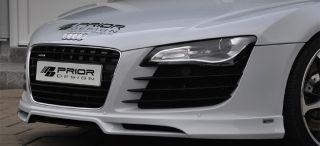 Prior Design Audi R8 Front Lip Splitter Spoiler Carbon Fiber V8 V10
