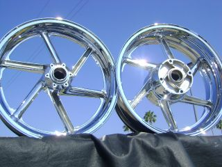 Honda CBR 900 900RR 900R CBR900RR Chrome Wheels Rims