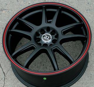 RVM G89 18 Black R Rims Wheels Toyota Corolla Celica