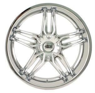 22 inch DIP Bionic Chrome Wheels Rims 5x115 Riviera Rendezvous Terraza
