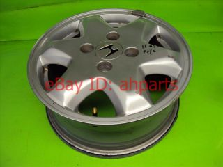 95 96 97 Honda Accord V6 Wheel Rim 15x6in Aluminum 42700 SV7 A21