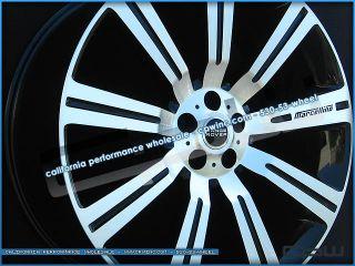 24 inch Land Range Rover Stormer Wheels Gloss Black Machined