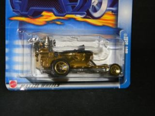 2003 Hot Wheels Hot Seat Collector 118 Gold RARE MOC