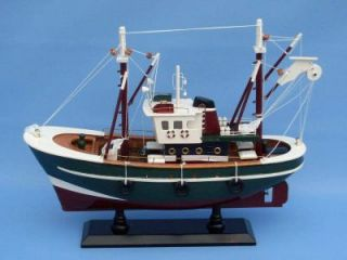 Reel Time 16 Model Fishing Boat SHIP Wood