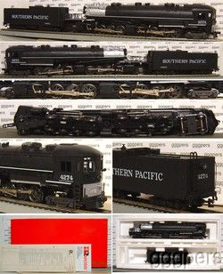 HO Train Rivarossi AHM Cab Forward Steam 4 8 8 2 Southern Pacific SP