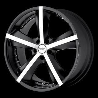 17 inch Black Rims Pontiac GTO G8 5x120 5 Lug Wheel New