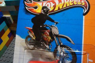 Wheels HW450F Motorcycle motorbike Motocross Diecast Bike HW Stunt 97