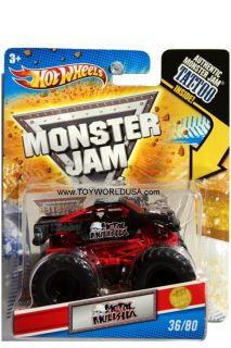 2011 Hot Wheels Monster Jam 36 Metal Mulisha