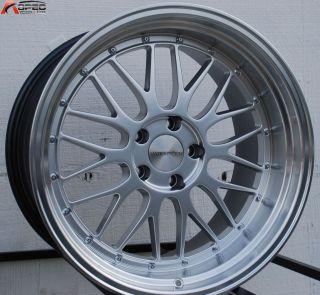 19x9 5 19x11 Varrstoen ES112 LM Style Silver Wheel Fit BMW E46 E90 M3
