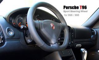 Porsche 996 T96 Sport Leather Steering Wheel CARRERA2 C4S Boxster Red