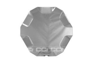 2007 GMC Envoy Rim Lug Nut Wheel Skin Center Hub Cap 4 Pcs Set Brushed