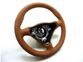 Porsche 996 986 Extra Thick Leather Steering Wheel Wrap Savanna Beige