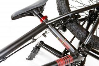 2013 United Bike Co RN18 Flat Black Red Complete 18 inch BMX Fit RN