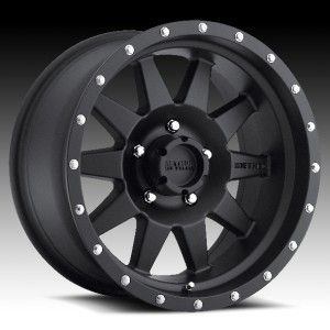 18x9 Method Race MR301 The Standard Black Wheels Rims 5x150 18