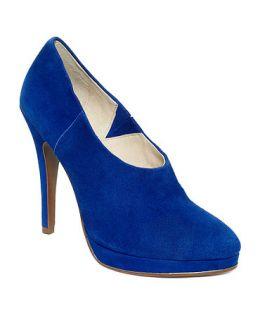 Juicy Couture Shoes, Elyssa Suede Platform Shooties   Shoes