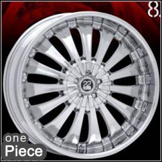 20inch Tis 08 Chrome Wheels Wheel Rim Rims 1pc