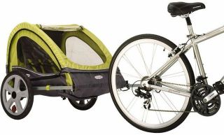 Instep QE128TG Journey Baby Kids Bicycle Bike Trailer JN1474