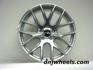 111 Audi A3 A4 VW Jetta Golf GTI CC Silver Black Mesh Custom Wheels