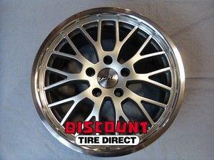 Used 17x8 5x112 5 112 Snetterton Hyper Silver Wheels Rims