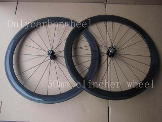 50mm Clincher Wheel Carbon Bicycle Wheel