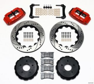 Front & Rear Disc Brake Kit Wilwood 05 10 C 6 Corvette 04 09 XLR 140