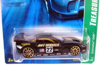 Hot Wheels Treasure Hunt Chevy Corvette C6R 2007 Limited Edition 124 4