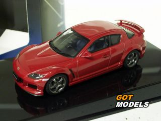 Mazda RX 8 Mazda Speed 1 43 Scale Model Car by Autoart Velocity Red