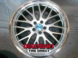 Used 19x8 5x100 5 100 Snetterton Hyper Silver Wheels Rims