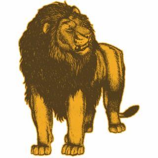 Proud Lion Photo Sculpture