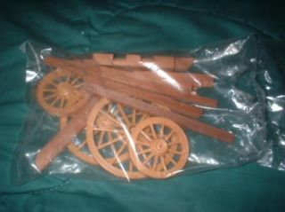 Early All Wooden Stage Coach Wagon Master Scale Model